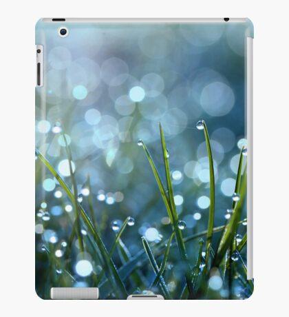 Fairy Drops Aqua Blue iPad Case/Skin