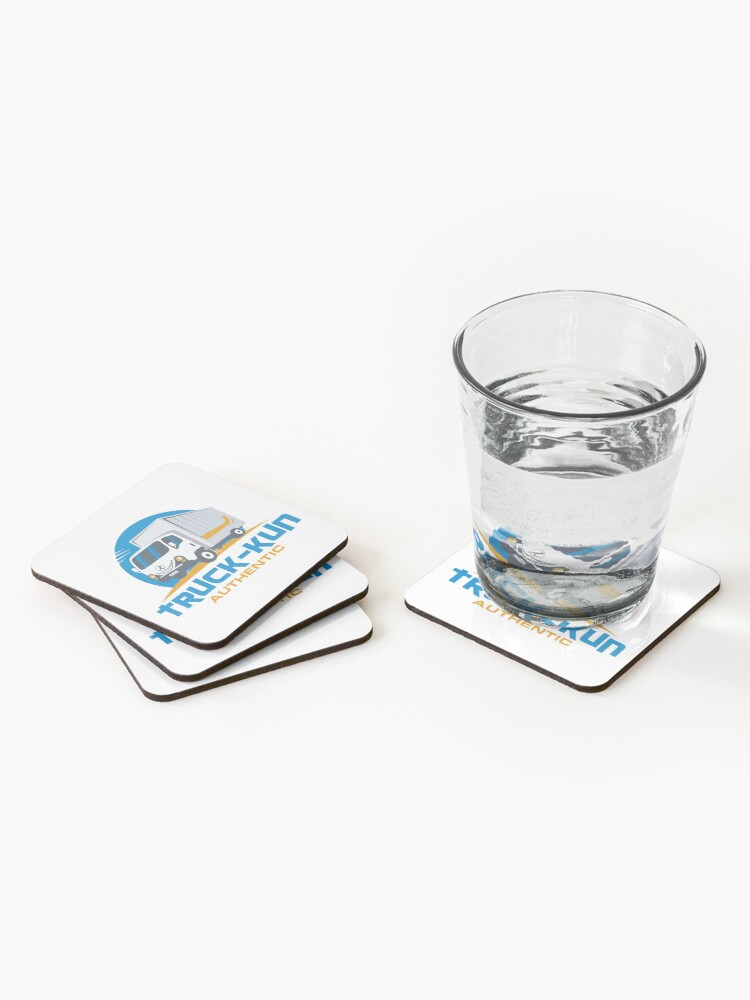Alternate view of Truck-kun Authentic Coasters (Set of 4)