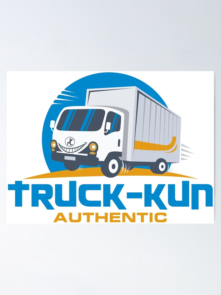 Alternate view of Truck-kun Authentic Poster