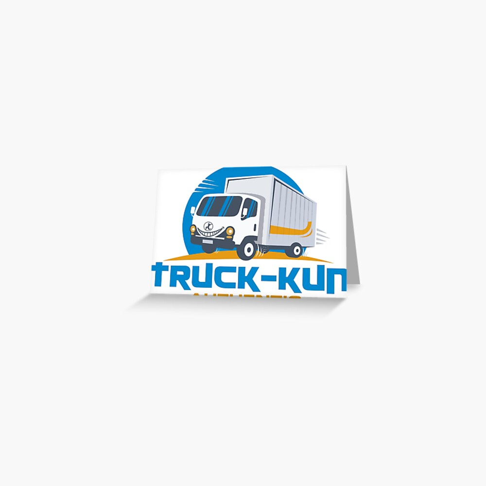 Truck-kun Authentic Greeting Card
