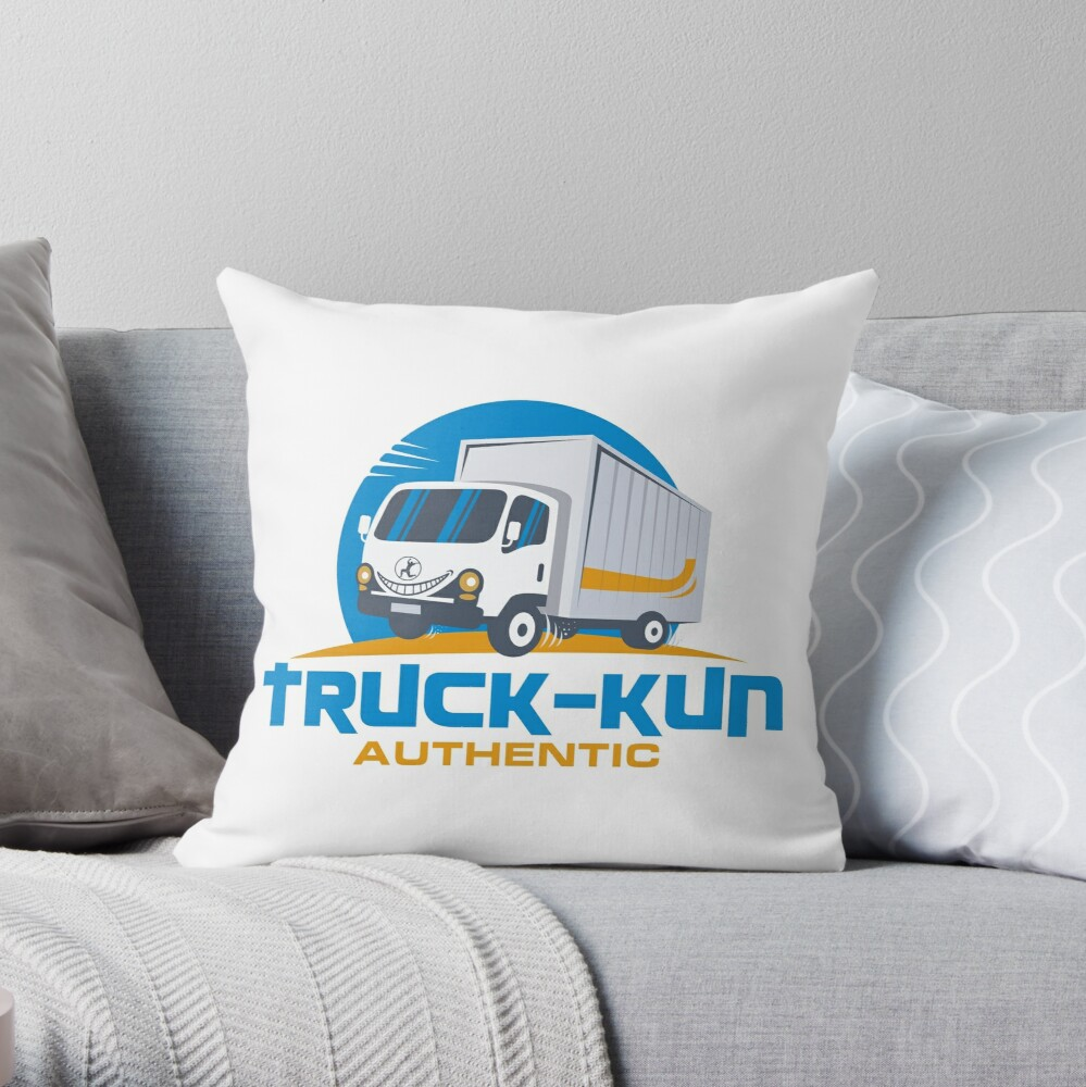 Truck-kun Authentic Throw Pillow