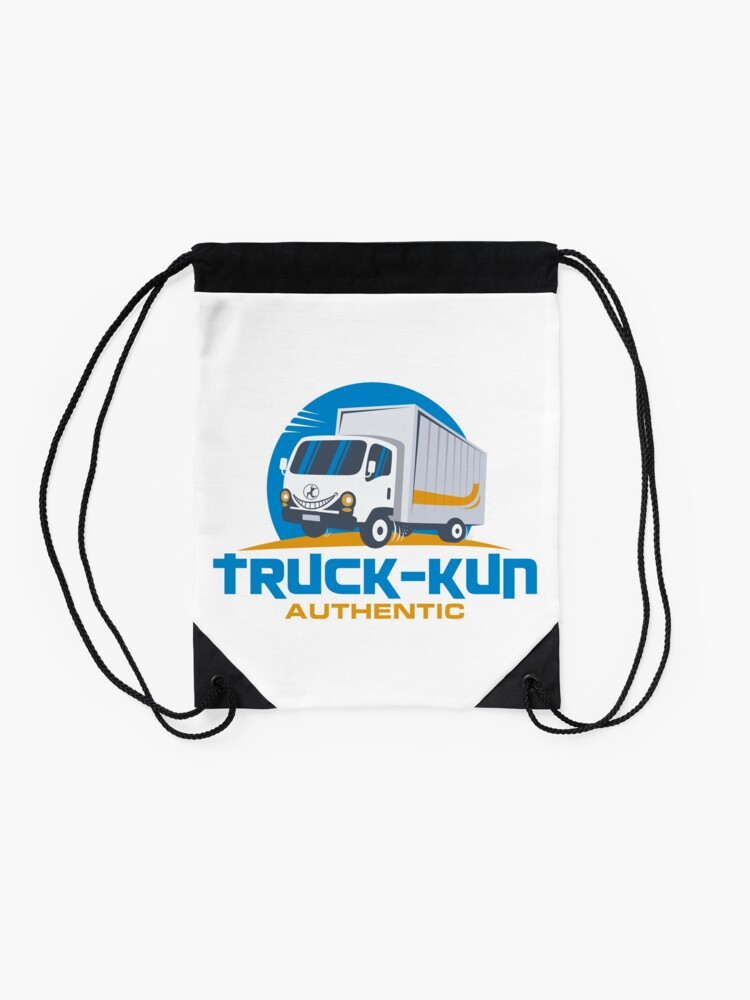 Alternate view of Truck-kun Authentic Drawstring Bag