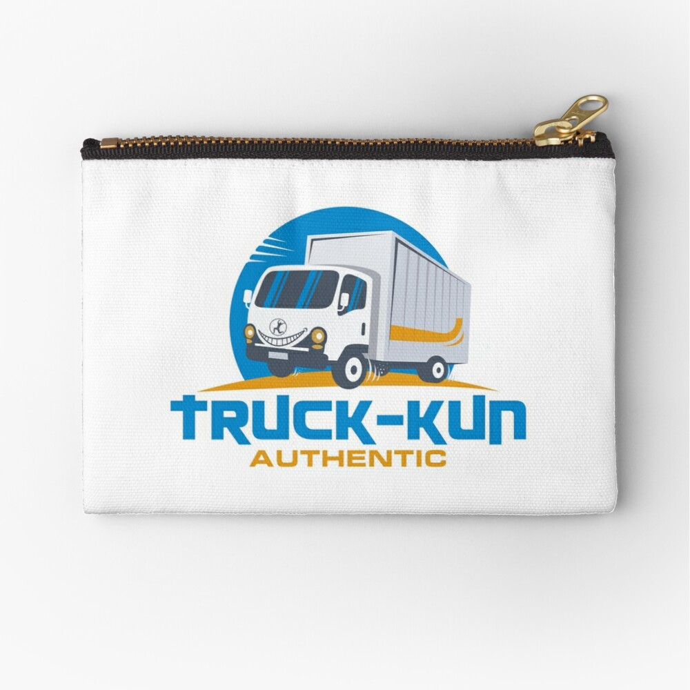 Truck-kun Authentic Zipper Pouch