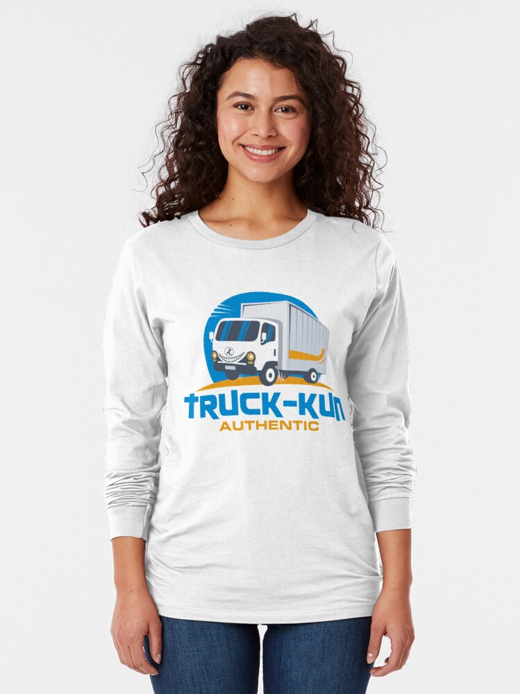 Alternate view of Truck-kun Authentic Long Sleeve T-Shirt