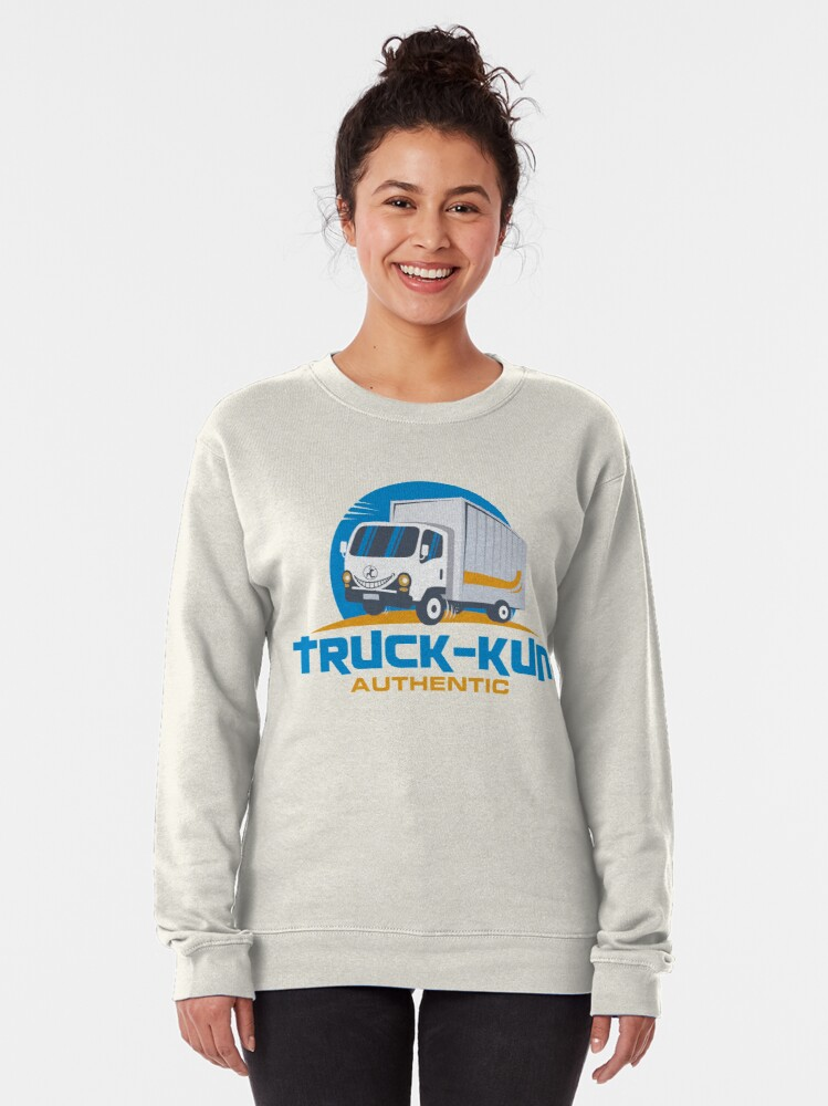 Alternate view of Truck-kun Authentic Pullover Sweatshirt