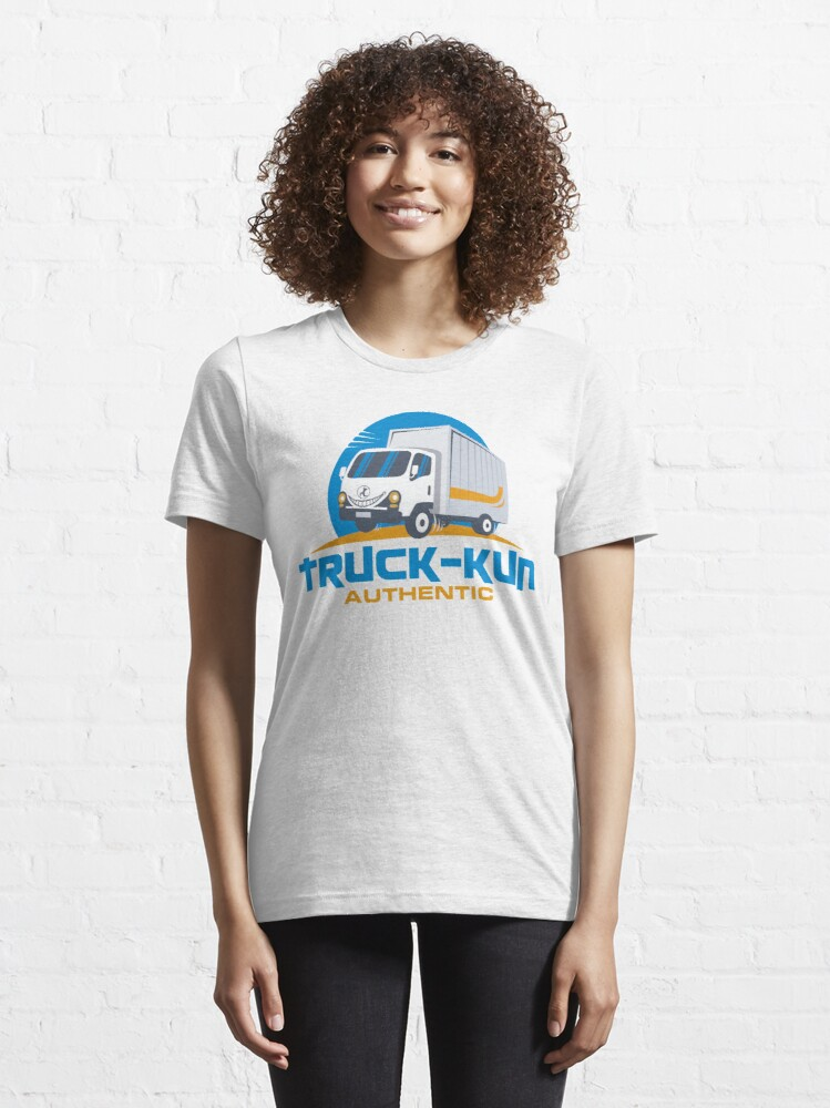 Alternate view of Truck-kun Authentic Essential T-Shirt