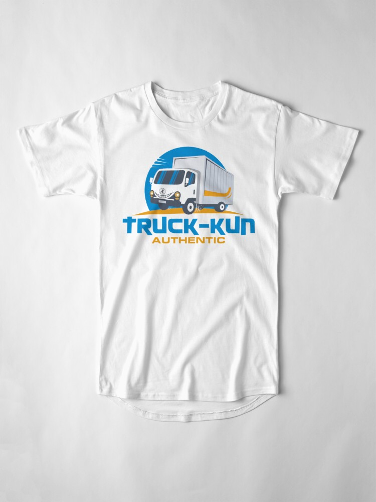 Alternate view of Truck-kun Authentic Long T-Shirt