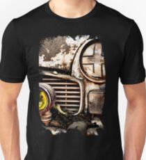 Vintage Abandoned Car_ Abstract  T-Shirt