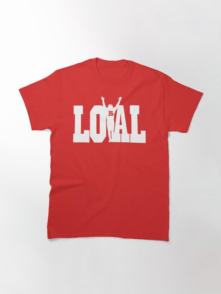 Alternate view of Joe Montana San Francisco Football Classic T-Shirt