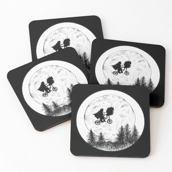 E.T.  Coasters (Set of 4)