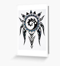 Abstract Dreamweaver Greeting Card