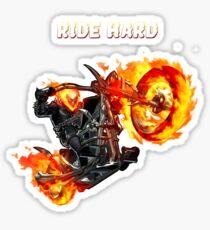 Pegatina Ghost Rider Ride Hard