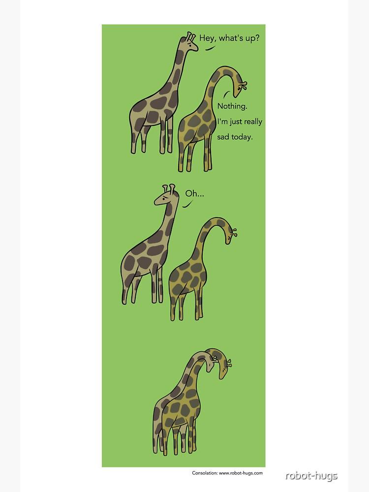 Consolation: Giraffes by robot-hugs