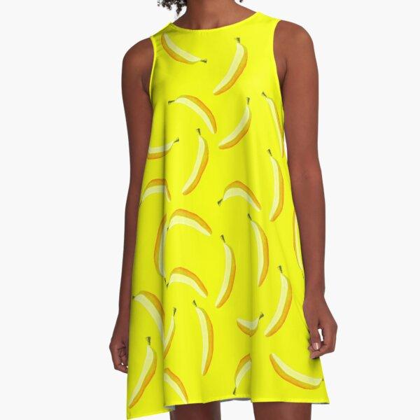 A Banana A-Line Dress
