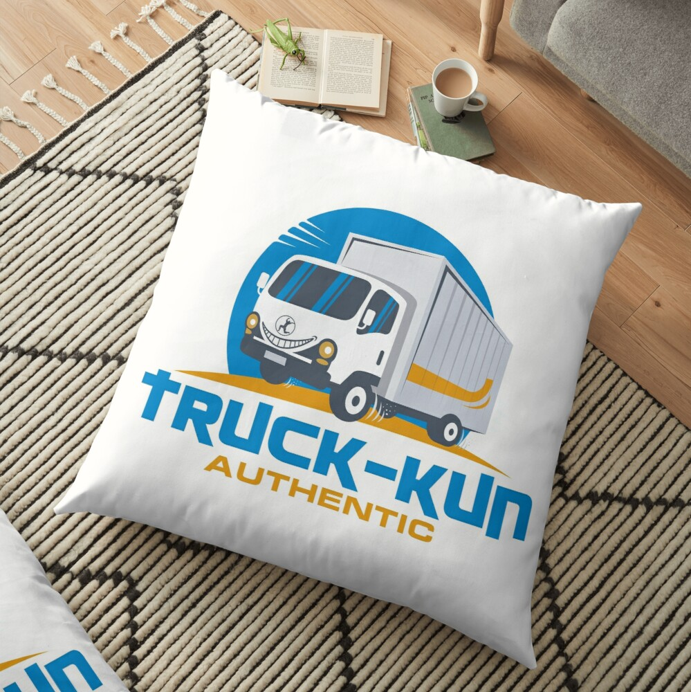 Truck-kun Authentic Floor Pillow