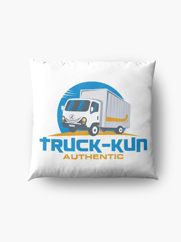 Alternate view of Truck-kun Authentic Floor Pillow