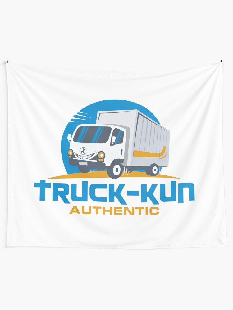 Alternate view of Truck-kun Authentic Tapestry
