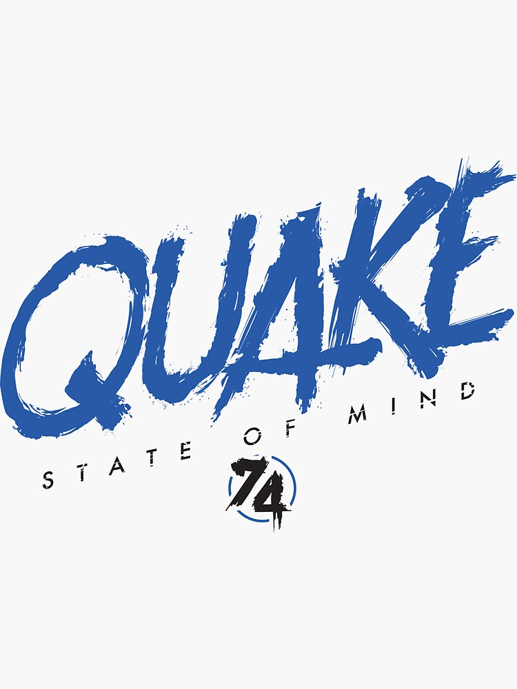 Earthquakes San Jose Soccer by OrganicGraphic