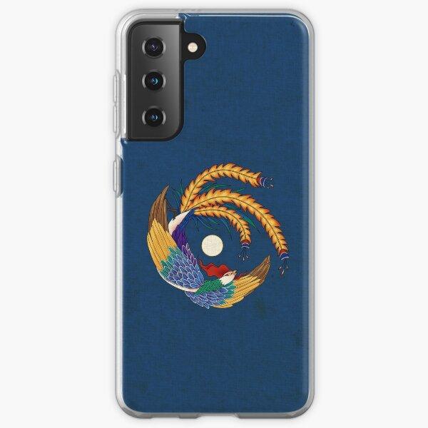 Minhwa: Asian Phoenix C Type (Korean traditional/folk art) Samsung Galaxy Soft Case
