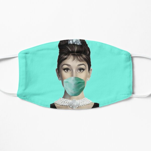 Audrey Hepburn Gave up blowing bubbles with her gum and decided wearing a mask was a much better idea. Mask