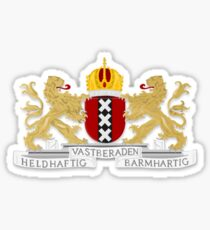 Amsterdam Coat of Arms  Sticker