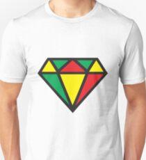 Irie Rasta Diamond Unisex T-Shirt
