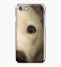 my white staffie marlow  iPhone Case/Skin