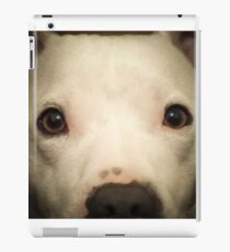 my white staffie marlow  iPad Case/Skin