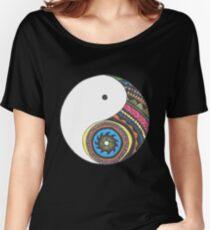 Ying Yang Women's Relaxed Fit T-Shirt