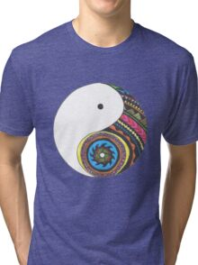 Ying Yang Tri-blend T-Shirt