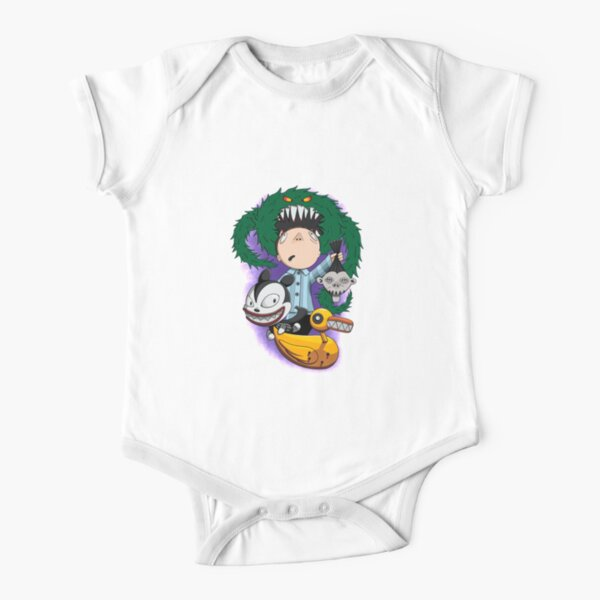 Evil Christmas Toys Nightmare Before Christmas Short Sleeve Baby One-Piece