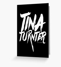 Tina TurnTer Collection Greeting Card