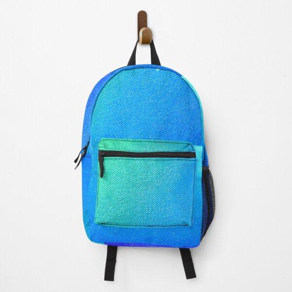 Ocean and Waterdrops / oil painting Backpack