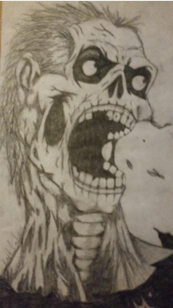 Zombie apocalypse  by Kaylincarlos1