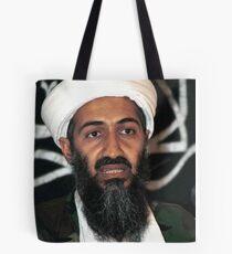 osama bun laden edgy shirt Tote Bag