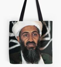 osama bun laden edgy shirt Tote Bag