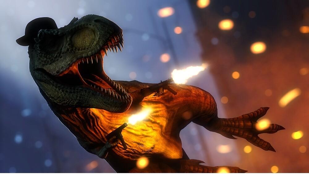 Tyrannosaurus Rekt by PantsuTaker