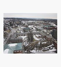 Rensselaer Polytechnic Institute Aerial Photography Photographic Print