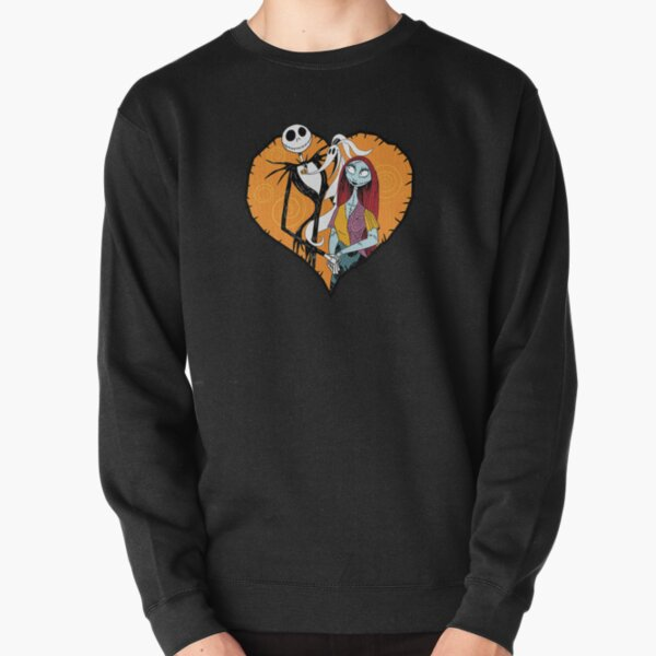 Jack Skellington Heart Nightmare Before Christmas Pullover Sweatshirt