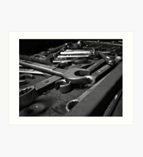 Wrenches Art Print