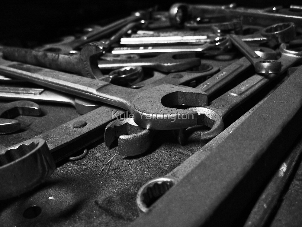 Wrenches by Kyle Yarrington