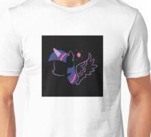 Twilight Sparkle Silhouette Unisex T-Shirt
