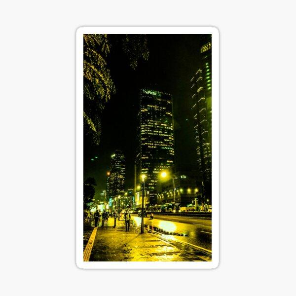 Jakarta Street Walking Sticker