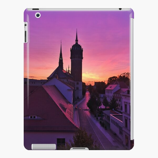 Sunset in Wittenberg iPad Snap Case