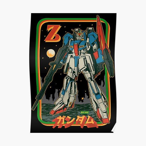 Retro Zeta Gundam Poster