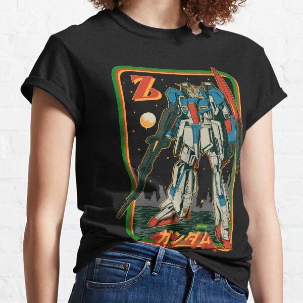 Retro Zeta Gundam Classic T-Shirt