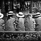 Line in Uniform by Karen E Camilleri