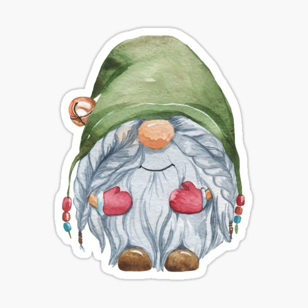 Gnome sticker Sticker