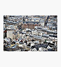 The View from Notre Dame Photographic Print