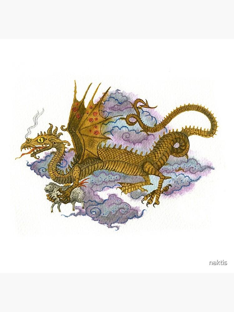 Flying dragon by naktis